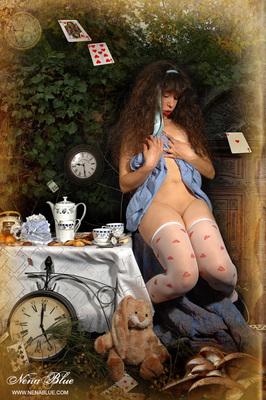 Tea with Alice in wonderland - 08